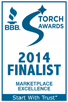 Custom Tile Works is a finalist of the 2014 BBB Torch Awards